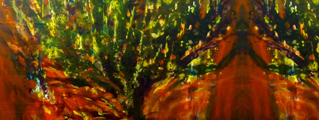 Shemot Art: Moses at the Burning Bush