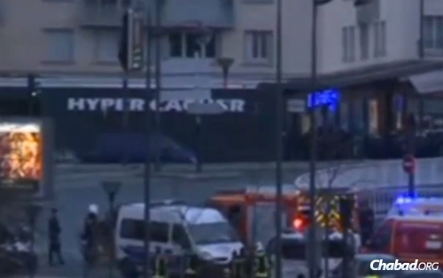The Hyper Cacher grocery store just outside of Paris was the site of terror, as shoppers were taken hostage during their pre-Shabbat shopping.