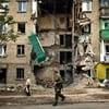 Teacher at Chabad Preschool Killed in Donetsk, Ukraine; Rockets Land Near Synagogue