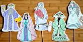 Purim Characters