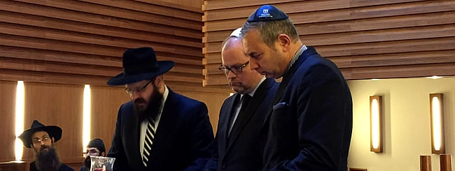Europe: Berlin Minister: Germany Stands With Jewish Community