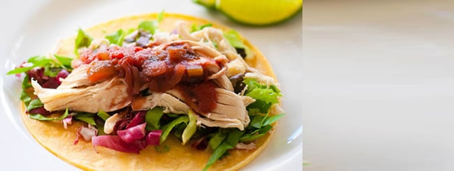 Kosher Recipes & Cooking: Chicken Tacos with Tomato and Grape Juice Salsa