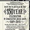 Civil War Synagogue in Upstate New York Marks 150 Years