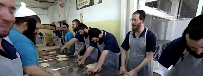March 2017: Making Matzah and Memories at Historic Bakery in Kfar Chabad