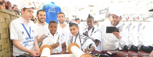 Jewish News: For 113 Orphaned Boys, a Joyous Bar Mitzvah Celebration in Jerusalem