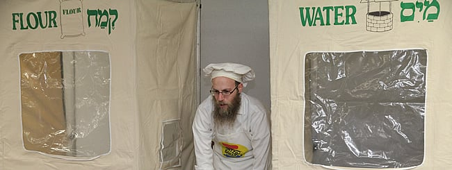 Holiday Watch: Portable Model Matzah Bakery Brings 'Living Legacy' to Thousands