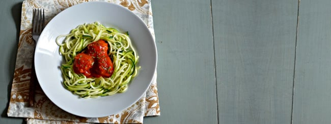 Cook It Kosher: Vibrant Summery Meatballs & Zucchini Noodles