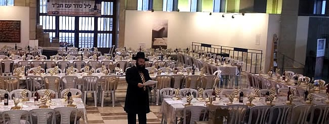 Holiday Watch: Prepping for a Mega-Seder in the Heart of Jerusalem