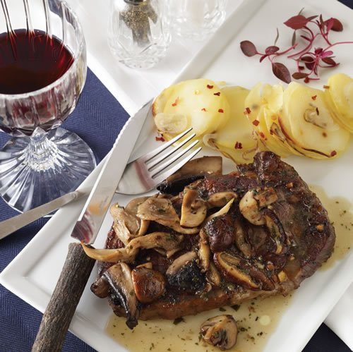 Rib Eye Steak with Mushroom Sauce - Chabad.org