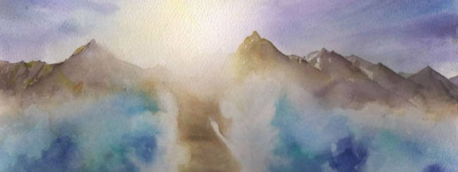 Jewish Art for the Soul: Splitting the Sea