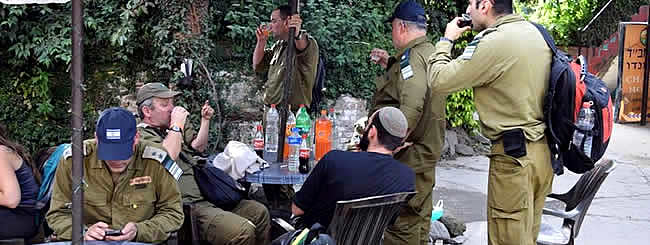 Asia: For Israeli Soldiers and Rescue Teams in Nepal, a Semblance of Home