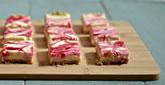 Raspberry-Swirled Lemon Cheesecake