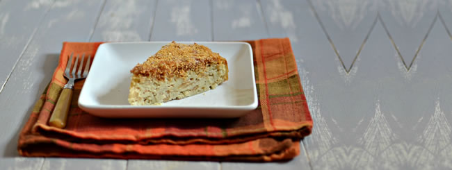 Kosher Recipes & Cooking: Apple Noodle Kugel for Rosh Hashanah
