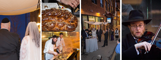 Essays and Insights: The Story of an Urban Chabad Wedding in Pictures
