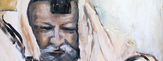 Jewish Art for the Soul: Tzaddik at Prayer