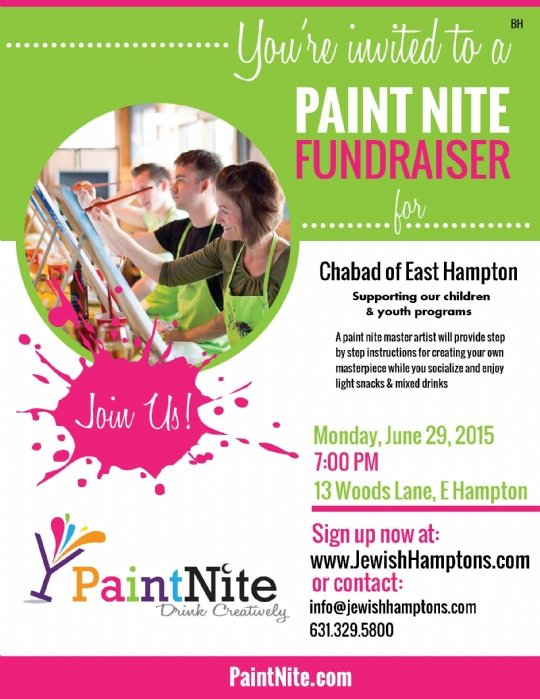 Paint Nite Fundraiser A Night Of Fun In Support Of