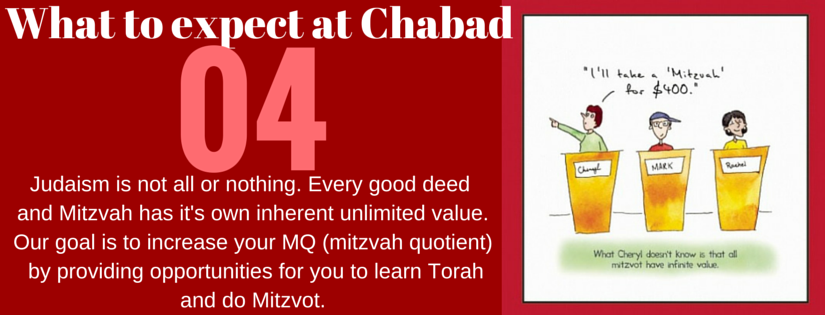 what to expect at chabad4