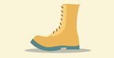 Las botas sobre la tierra