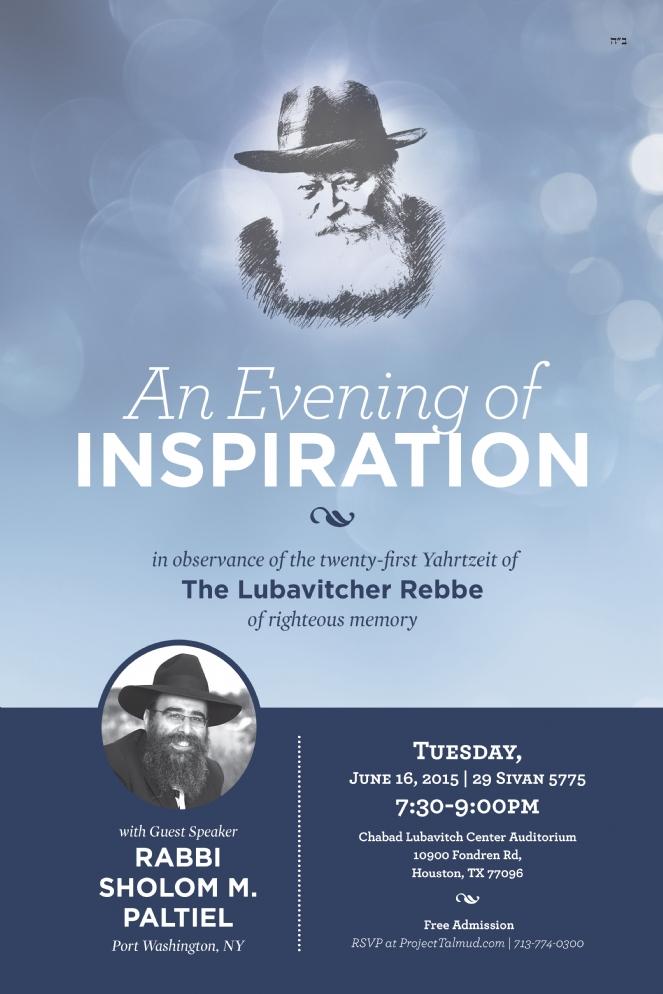 Chabad Outreach Houston- Gimmel Tammuz - 2015 - 12x18 - Poster.jpg