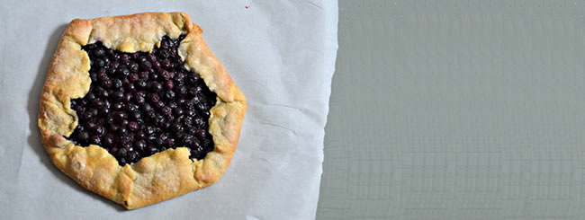 Cook It Kosher: Crisp Blueberry Galette