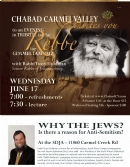 Lecture: Why the Jews?