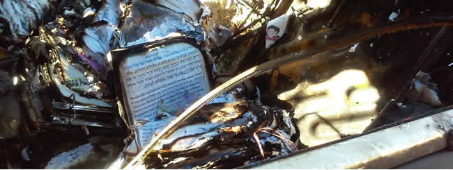 News Brief: Arson Attack in Los Angeles Torches Chabad Emissaries' Car