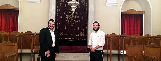 Europe: In Economically Battered Greece, Rabbinic Students Offer Comfort to Jewish Residents