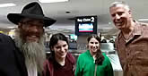New Mexico Rabbi Welcomes Vacationing New York Mayor