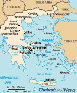 Map of Greece (Photo: Wikimedia Commons)