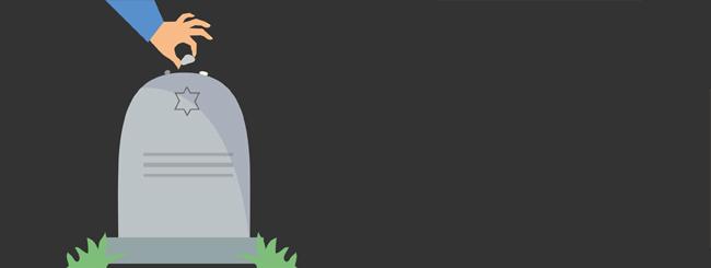 Статьи и эссе на тему еврейских традиций: Почему евреи кладут камешки на могилы?