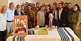 Torah Dedicated to 'Lone Soldier' Max Steinberg, Who Gave His Life Protecting Israel