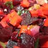 Beet, Carrot & Celery Salad