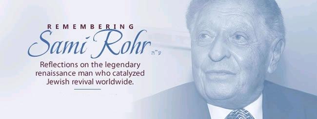 Jewish News: Remembering Sami Rohr