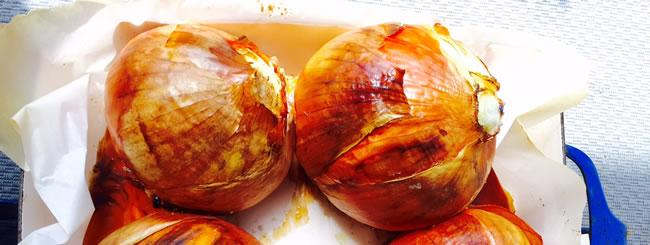 Matot-Massei Recipes: Roasted Onions