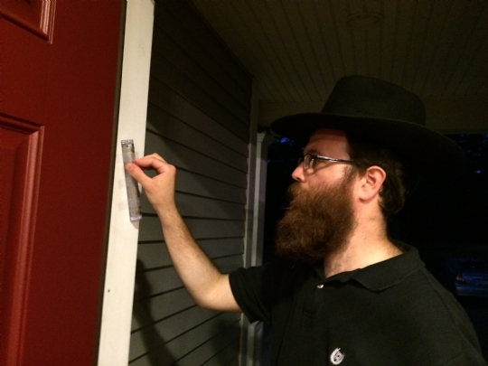 mezuzah on new home.JPG