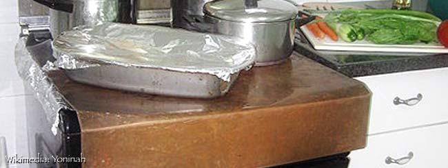 Kochen am Schabbat: Das Blech