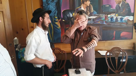 Mr. Y Refuses to Put on Tefillin