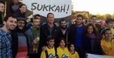 Celebrating Sukkot With Israeli Basketballers in Chicago