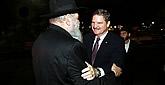 Aruba's Prime Minister Visits Chabad-Lubavitch Headquarters