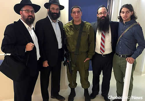 The rabbis brought delegations from abroad to comfort victims of terror and demonstrate solidarity with the Israeli people.