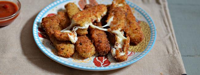 Cook It Kosher: Fried Mozzarella Sticks for Chanukah