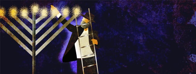 Stories of Return: Of Kapotehs, Ladders and Crazy, Lit-up Rabbis
