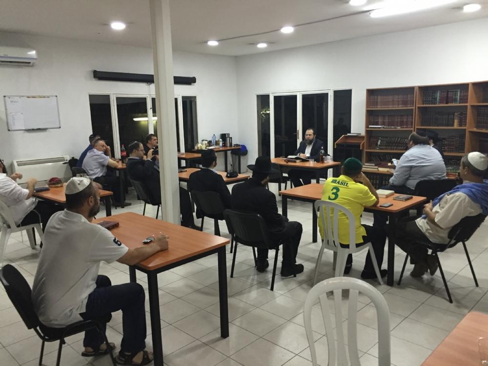 Mishmar at the Yeshiva