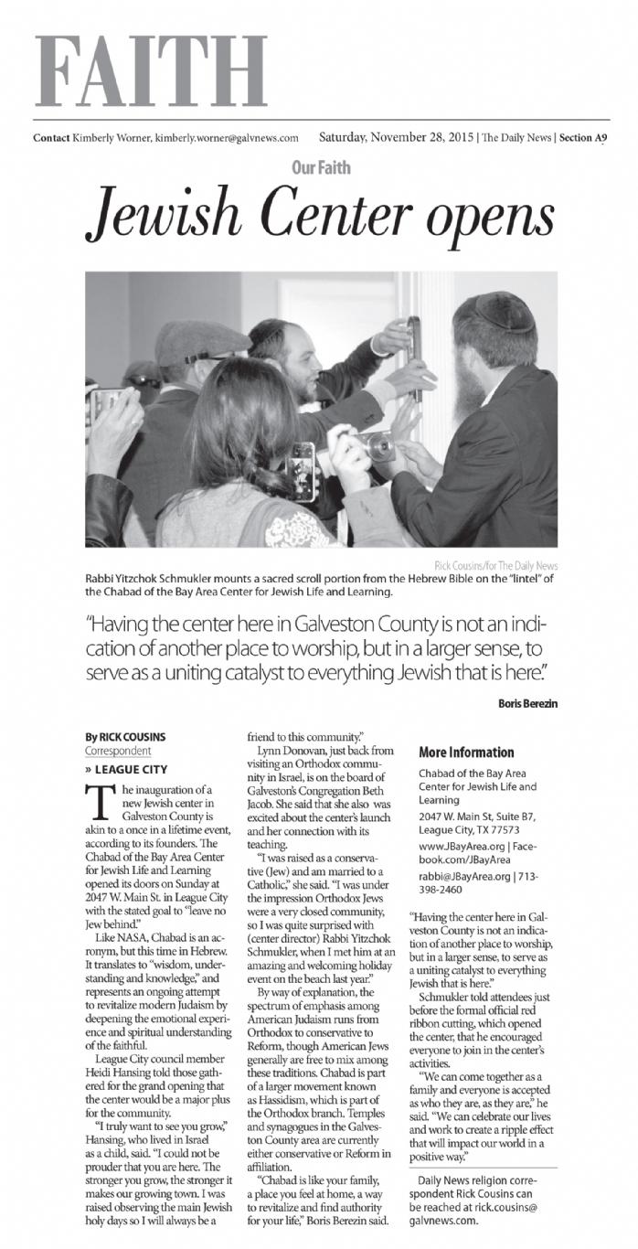 Galveston-Daily-News---Nov-2015---Grand-Opening-Coverage---