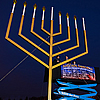 First Chanukah Nights Generate Rays of 'Light Unto the World'