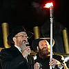 Thousands in Moscow Watch First Light Kindled on Menorah