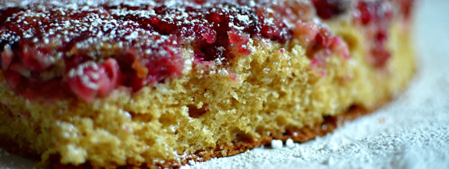 Cook It Kosher: Cranberry Upside-Down Cake