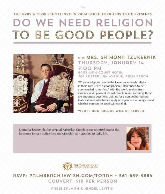 Lecture Series: Shimona Tzukernik