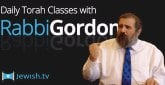 New App Presents Daily Classes from Rabbi Gordon