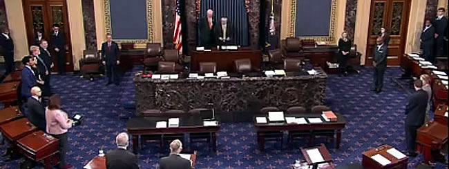 February 2016: A First in the U.S. Senate: Rabbi From 'The Last Frontier' Delivers Morning Prayer